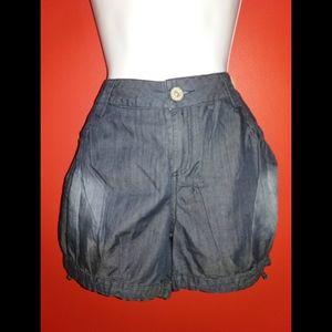 Mustard Seed Dark Chambray Shorts (M)